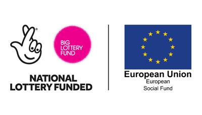 National Lottery Funded - European Union European Social Fund